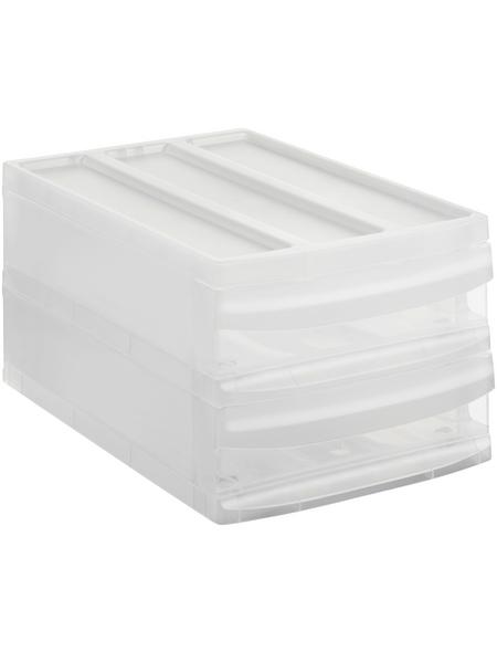 Rotho Schubladenbox »SYSTEMIX«, BxHxL: 25,5 x 20,3 x 39,5 cm, Kunststoff