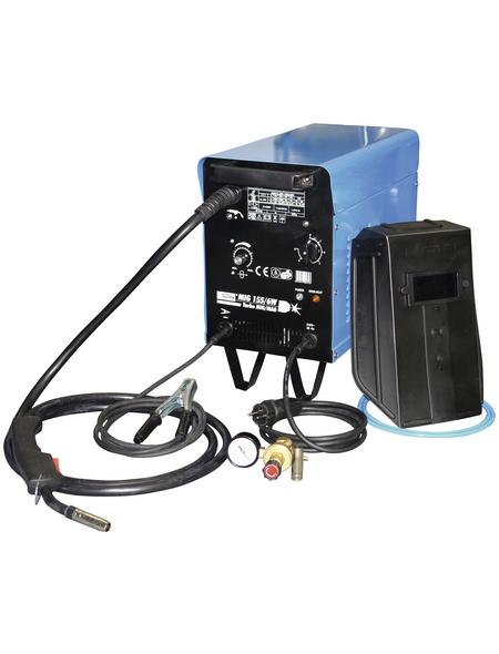 GÜDE Schutzgas-Schweißgerät »MIG 155/6W«, Kunststoff/Metall