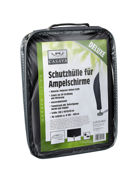 CASAYA Schutzhülle »Deluxe«, Ø 40/49/69 x 260 (D x H) cm