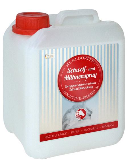MÜHLDORFER NUTRITION AG Schweif- und Mähnenspray (Nachfüllpack), 2,5L