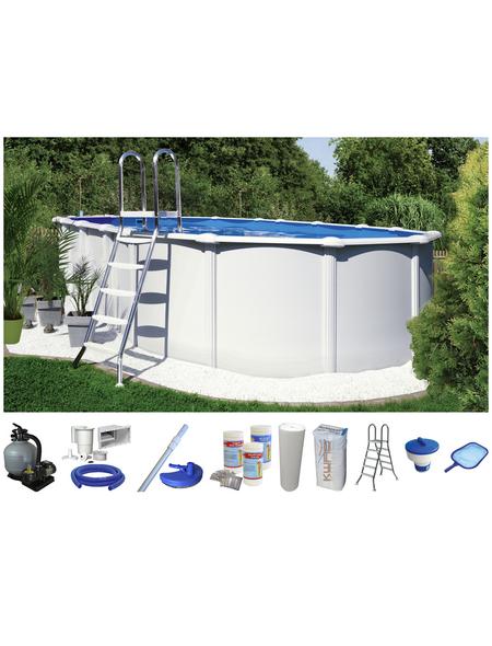 Schwimmbecken »OFB SdL «, oval, BxLxH: 370 x 730 x 130 cm