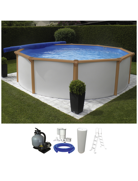 Schwimmbecken »RB SdL «, rund, Ø x H: 350 x 130 cm