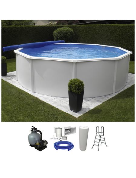 Schwimmbecken »RB SdL «, rund, Ø x H: 350 x 132 cm
