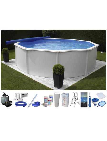 Schwimmbecken »RB SdL «, rund, Ø x H: 460 x 132 cm