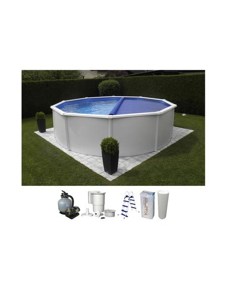 Schwimmbecken »Steely de Luxe heat «, rund