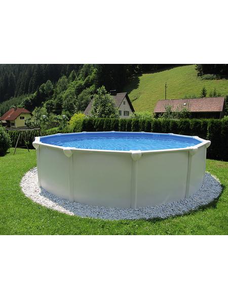 Schwimmbecken »Steely Supreme «, rund
