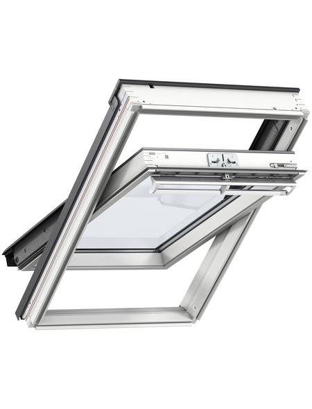VELUX Schwing-Dachfenster »PK06«, Verbundsicherheitsglas (VSG), innen weiß,