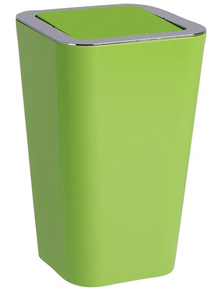 WENKO Schwingdeckeleimer »Candy «, 6 l, grün