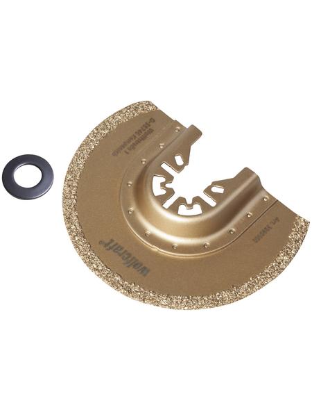WOLFCRAFT Segmentsägeblatt, Durchmesser, 85 mm
