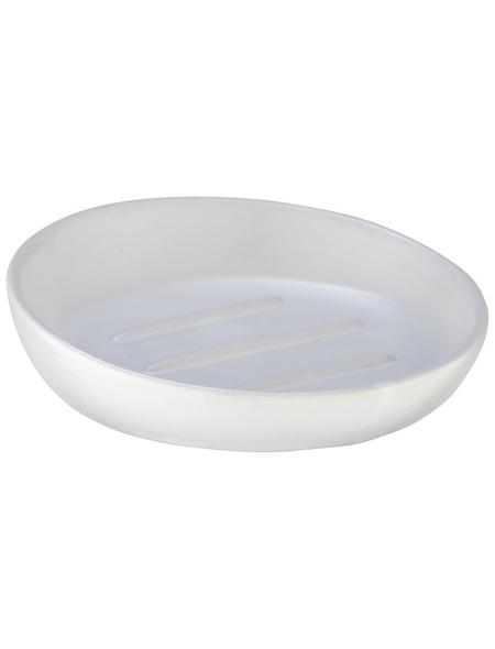 WENKO Seifenablage »Badi«, Keramik, weiß