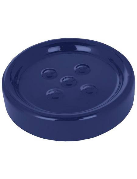 WENKO Seifenablage, dunkelblau
