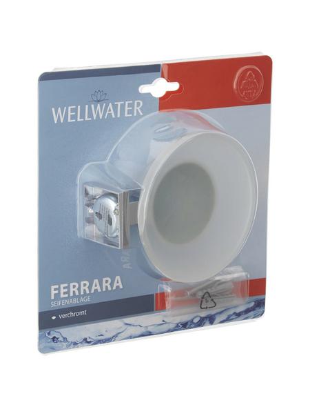 WELLWATER Seifenablage »FERRARA«, Metall | Sicherheitsglas