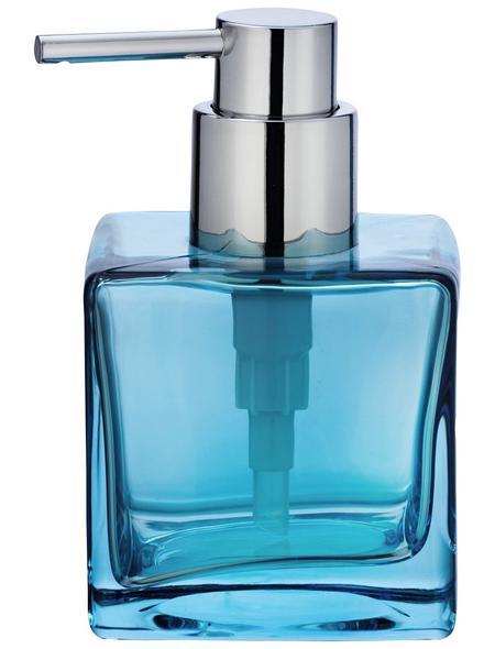 WENKO Seifenablage, Glas, blau