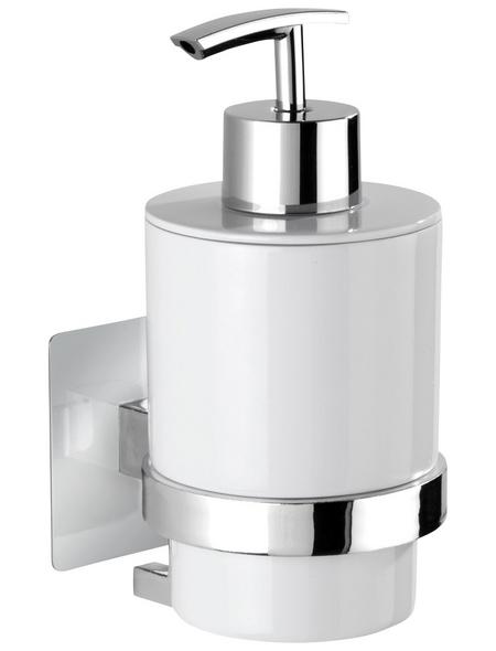 WENKO Seifenablage »Turbo-Loc Quadro Ed.«, Kunststoff/Edelstahl, chromfarben