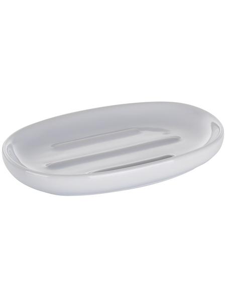KELA Seifenschale »Isabella«, Keramik, glänzend, weiß