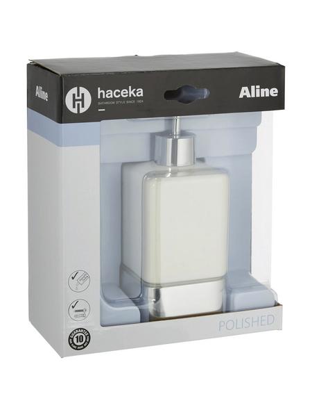 HACEKA Seifenspender »Aline«, Höhe: 17,5 cm, weiß
