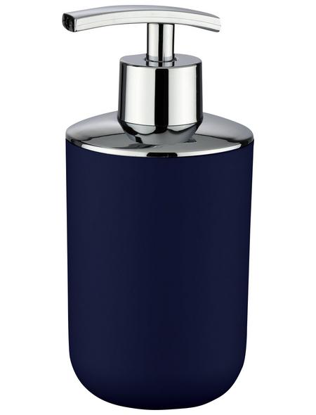 WENKO Seifenspender »Brasil«, Kunststoff, dunkelblau