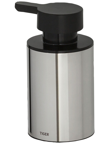 TIGER Seifenspender »Colar«, Edelstahl/Kunststoff, edelstahlfarben