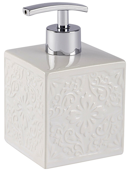 WENKO Seifenspender »Cordoba«, Keramik, weiß