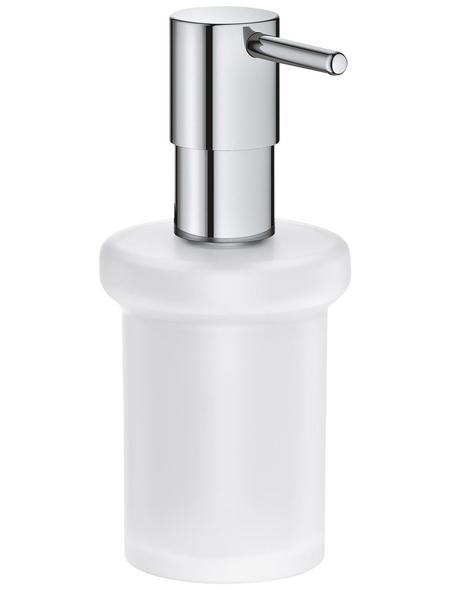 GROHE Seifenspender »Essentials«, Metall/Glas, glänzend, chromfarben