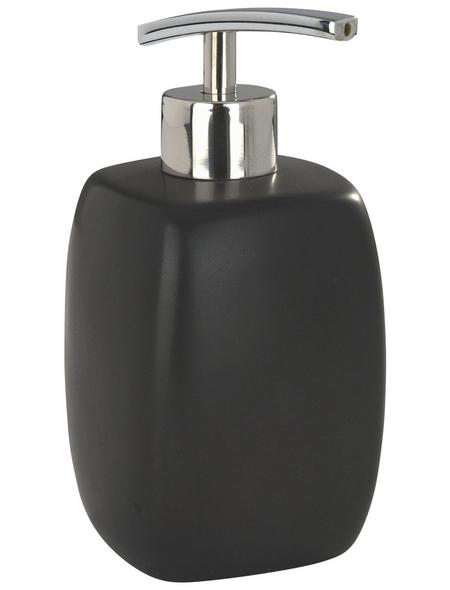 WENKO Seifenspender »Faro«, Keramik, schwarz