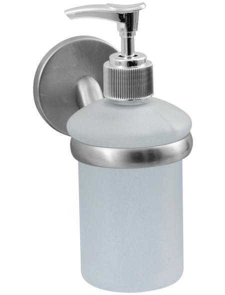 FACKELMANN Seifenspender »Fusion«, Höhe: 16 cm, edelstahlfarben