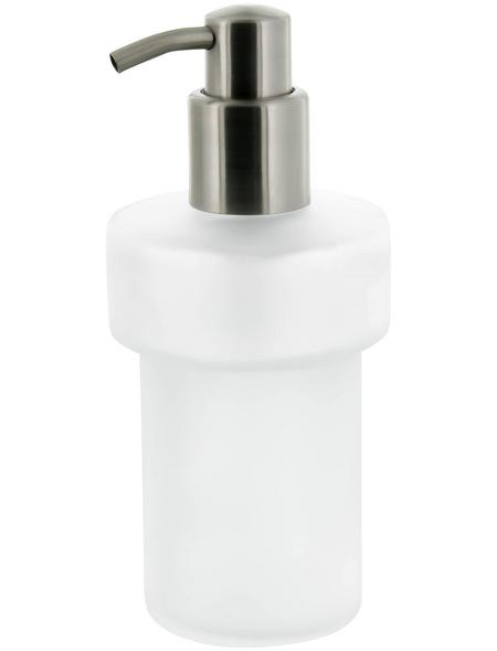 TIGER Seifenspender »Items«, Edelstahl/Glas, edelstahlfarben