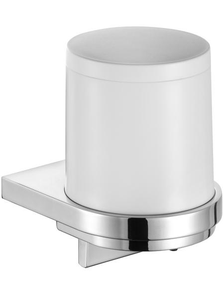 KEUCO Seifenspender, Kunststoff/Metall, glänzend, weiß/chromfarben
