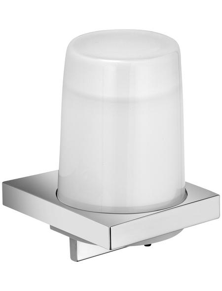 KEUCO Seifenspender Kunststoff   Metall   Glas