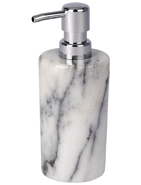 WENKO Seifenspender »Onyx«, Marmor, weiß