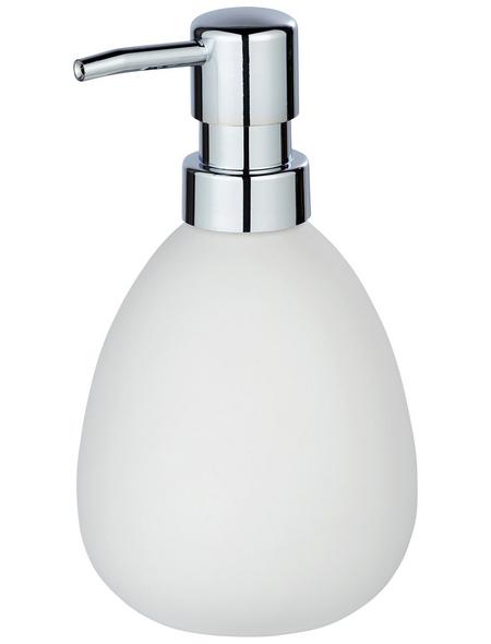 WENKO Seifenspender »Polaris«, Keramik, weiß