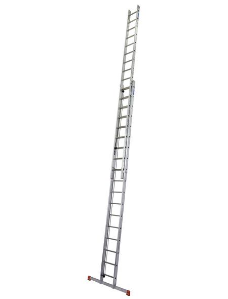 KRAUSE Seilzugleiter »MONTO«, Anzahl Sprossen: 36, Aluminium