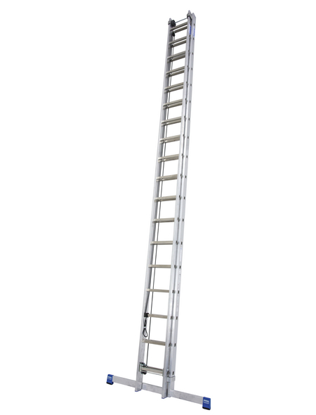 KRAUSE Seilzugleiter »STABILO«, 36 Sprossen, Aluminium