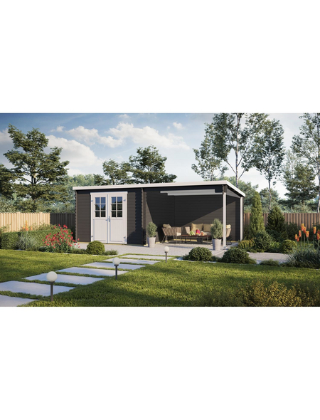 MR. GARDENER Seitenanbau »Anbau für BBH Pultdach in Farbe«