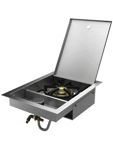 MR. GARDENER Seitenkocher-Einbauelement »Jackson«, 1 Brenner
