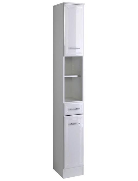 HELD MÖBEL Seitenschrank »Neapel«, B x H x T: 25 x 190 x 34 cm