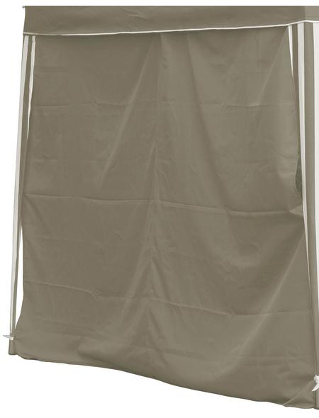 BELLAVISTA Seitenteile, beige, Breite: 290 cm, Polyester