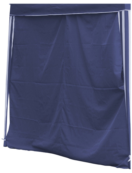 BELLAVISTA Seitenteile, blau, Breite: 290 cm, Polyester