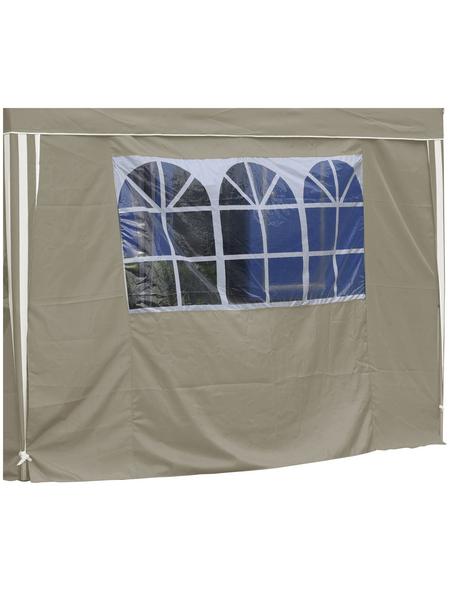 BELLAVISTA Seitenteile, Breite: 290 cm, Polyester, beige, mit Fenster