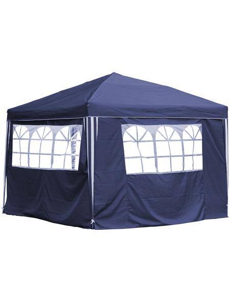 CASAYA Seitenteile, Breite: 290 cm, Polyester, blau