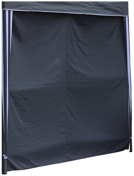 BELLAVISTA Seitenteile, Breite: 290 cm, Polyester, grau