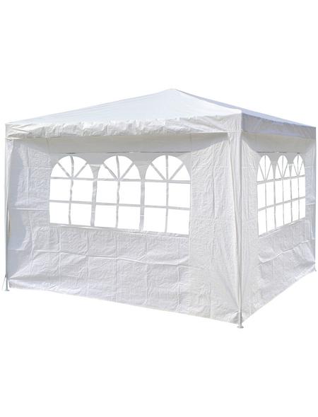 CASAYA Seitenteile, Breite: 290 cm, Polyethylen, weiß, mit Fenster