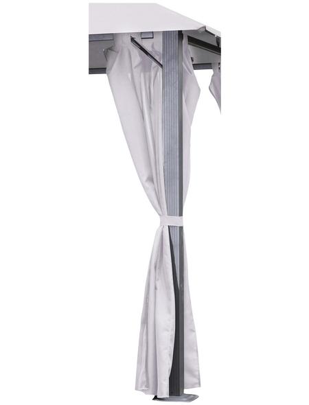 LECO Seitenteile, Breite: 300 cm, Polyester, natur