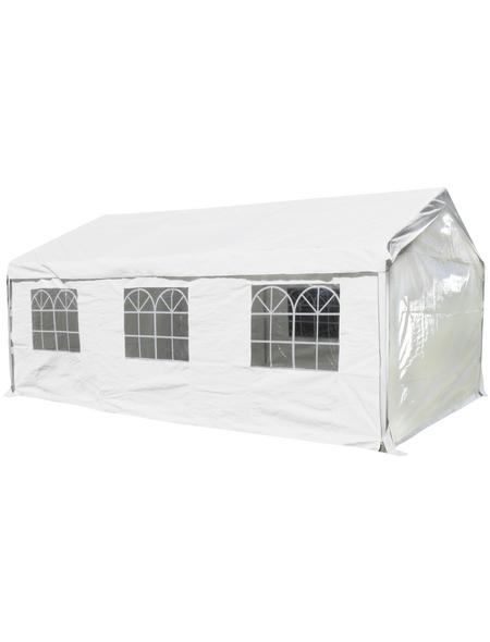 CASAYA Seitenteile, Breite: 595 cm, Polyethylen, weiß