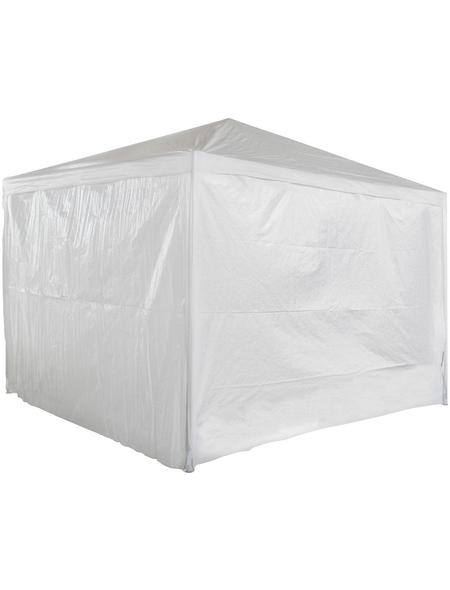 CASAYA Seitenteile für Pavillon, weiß, Polyethylen