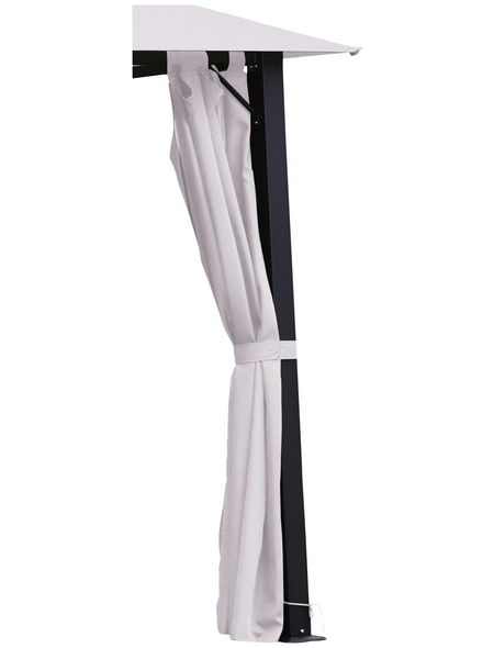 LECO Seitenteile, hellbeige, Breite: 300 cm, Polyester