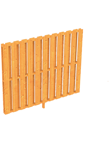 Seitenwand, B x H: 78,5  x 160  cm, Douglasienholz, Farbe: natur
