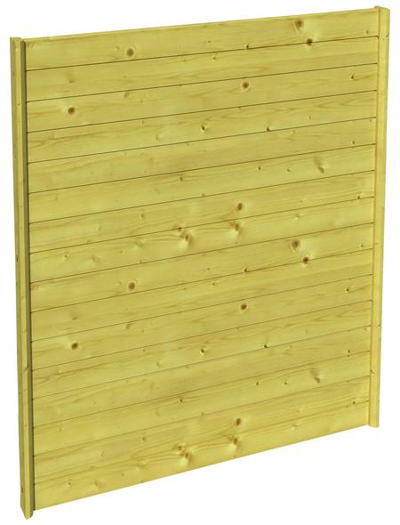 SKANHOLZ Seitenwand, Breite: 78,5 cm, grün