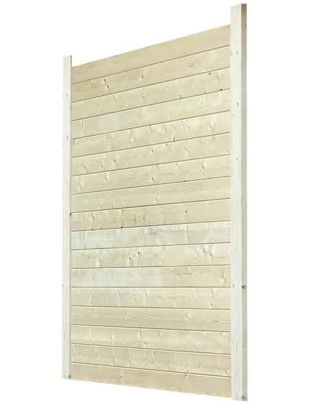 MR. GARDENER Seitenwand »Schönheim«, Holz, B x H: 273,5 x 193,8 cm