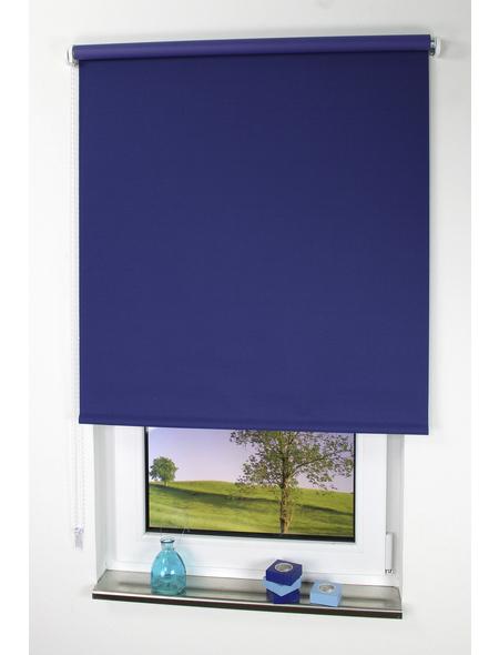 LIEDECO Seitenzug-Rollo, blau, Polyester